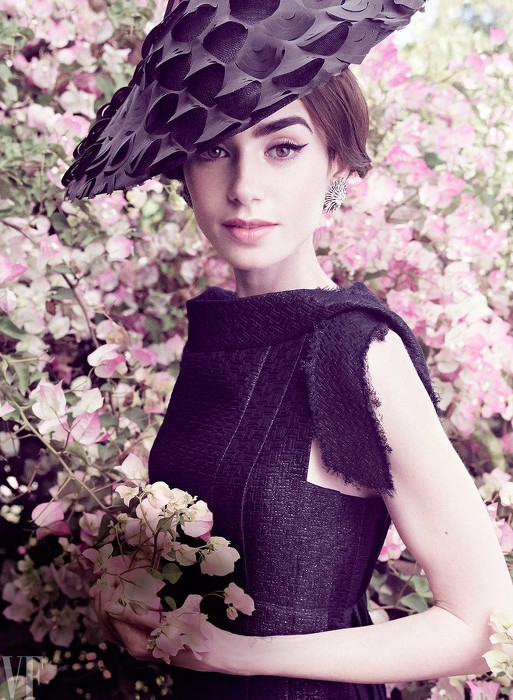 Lily Collins - Tom Munro - Vanity Fair