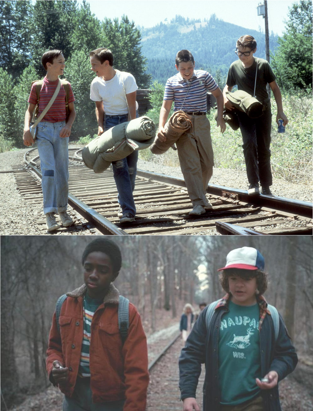 stranger things-stand by me