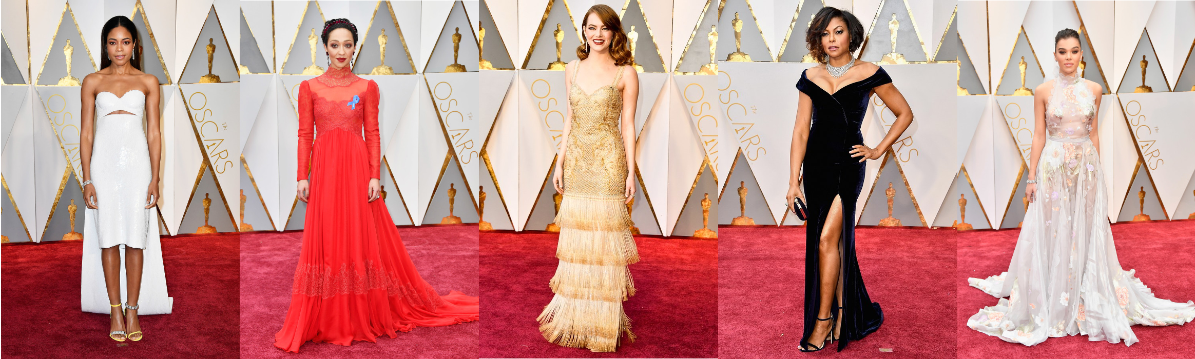 robes fashion oscars