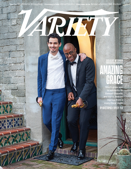 Barry Jenkins - Damien Chazelle - Variety