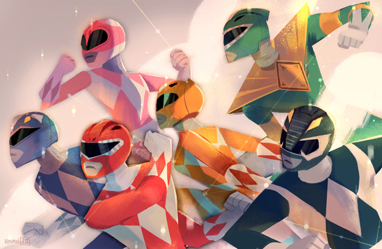 Power Rangers- Abigail L. Dela Cruz