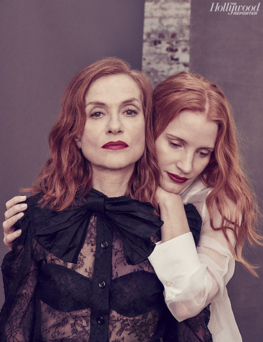 Isabelle Huppert - Jessica Chastain - The Hollywood Reporter