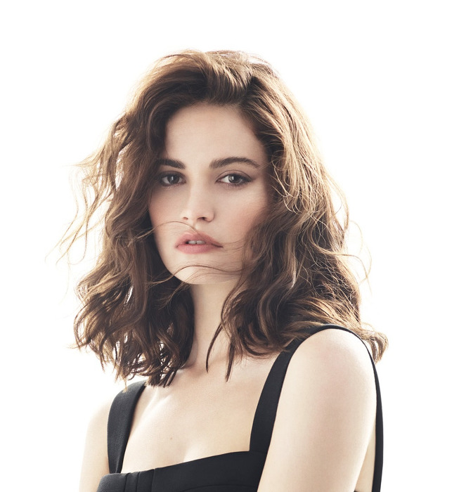Lily James - DuJour
