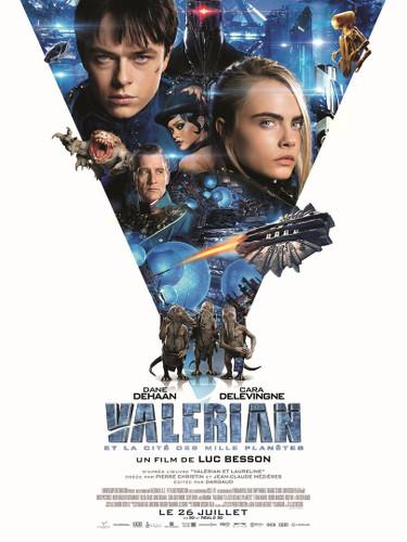 Valerian affiche