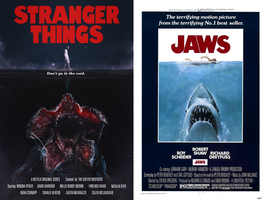 Stranger Things - Jaws