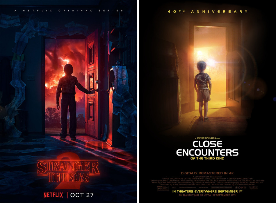 Stranger Things - encounter of the third kind