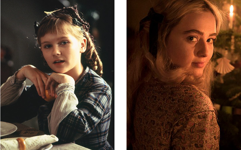 little women - amy - kirsten dunst - kathryn newton