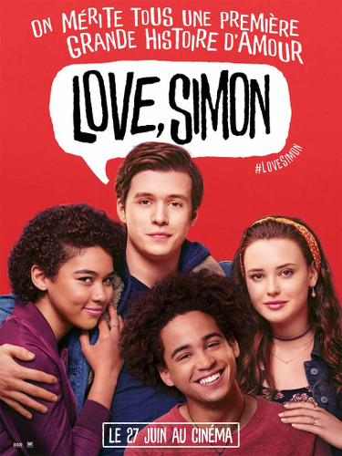 Love Simon affiche