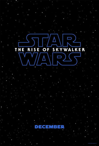 Star Wars IX the rise of skywalker